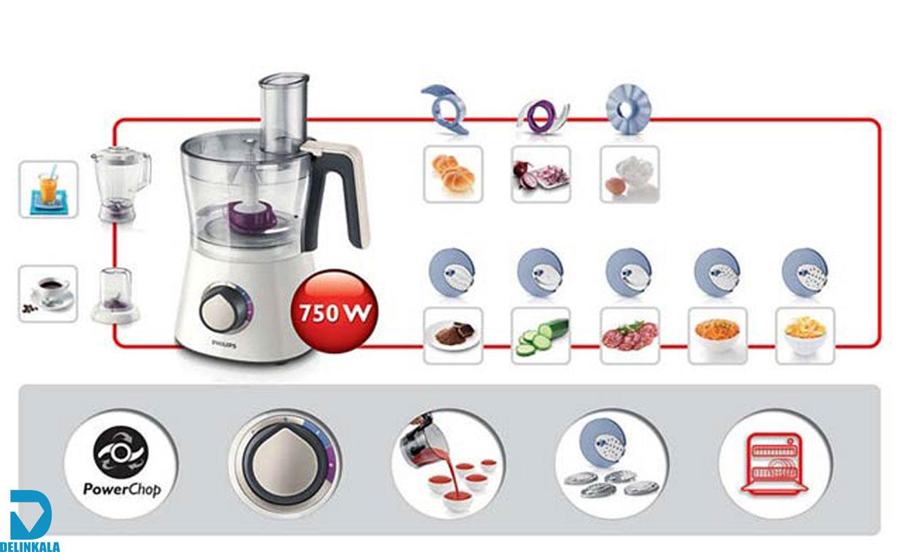 غذاساز فیلیپس مدل HR7761